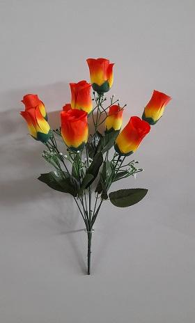 Букет бутонов роз «Ласка» 9г. Н-40см Б/С  Б967