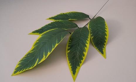 Ветка дерева 5 листов Н-57см Б/С  В91