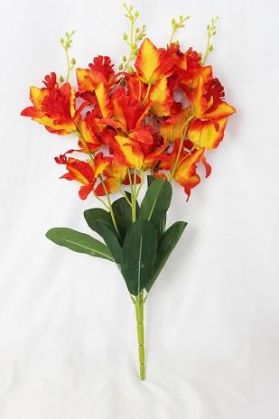 Букет орхидей «Бали» 20гол. 5вет. Н-58см Б/С Б1108