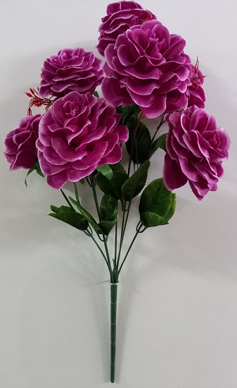 Букет роз с тархуном «Нубладо» 7гол.Н-60см Б/С Б1103