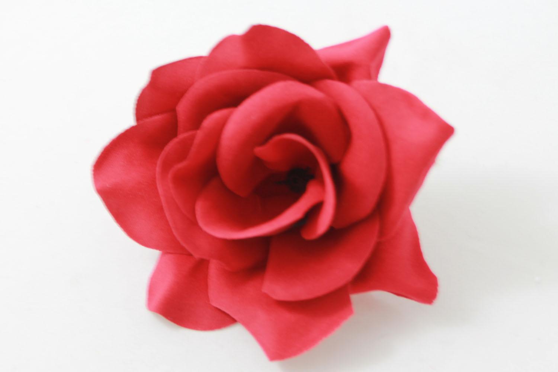 Роза бархатная «Маленькая леди» d-10см Б/С Г80